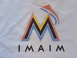 1 miami marlins mlb baseball sewing block