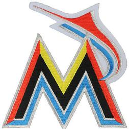 2012 Miami Florida Marlins New 'M' Letter Logo Sleeve Jersey