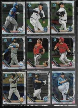 2019 Bowman Chrome AND Camo Parallels  --Pick |Ur OwN| Card-
