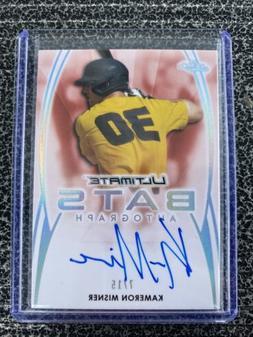 2019 Leaf Ultimate Baseball Ultimate Bats Kameron Misner Aut