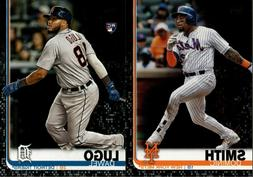 2019 TOPPS SERIES 2 BLACK PARALLEL #/67 SINGLES W/ RC - YOU