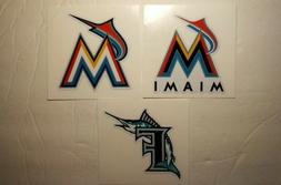 MIAMI MARLINS combo  DIY Stickers Decals GREAT for YETI