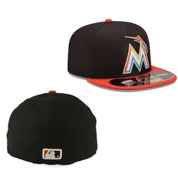 New Era 59FIFTY 5950 FLORIDA MIAMI MARLINS MLB Diamond Cap B