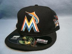 New Era 59fifty Miami Marlins All Star Game Patch Sz 8 BRAND