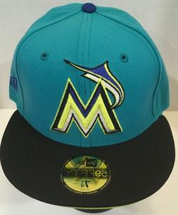 New Era 59Fifty Miami Marlins Fitted Hats