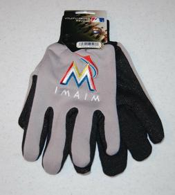ADULTS MIAMI MARLINS MLB ALL PURPOSE/UTILITY WORK GLOVES