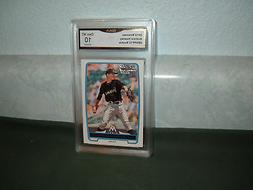 ANDREW HEANEY 2012 BOWMAN ROOKIE GRADED GEM MINT 10 Marlins