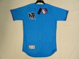 Authentic Miami Marlins Alternate ELECTRIC BLUE Flex Base Je