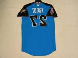 Authentic Mike Trout 2017 All Star Jersey Anaheim Angels Mia
