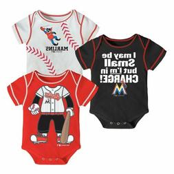 Outerstuff Baseball MLB Infant Miami Marlins Team Three Pack
