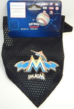 BRAND NEW MIAMI MARLINS MLB PET DOG PUPPY BANDANA SM-MED SCA