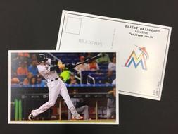 Christian Yelich Miami Marlins 2017 Major League Baseball 4x