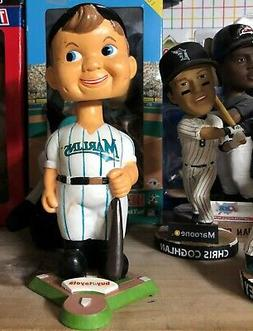 FLORIDA / MIAMI MARLINS - MASCOT BOBBLEHEAD - MINT CONDITION