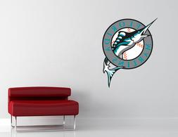 Florida Miami Marlins MLB Wall Decal Vinyl Sticker Decor EXT