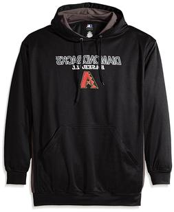 Genuine MLB Miami Marlins Men's Fleece Hood,Black / StormGre