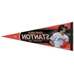 GIANCARLO STANTON #27 MIAMI MARLINS ROLL UP PREMIUM PENNANT