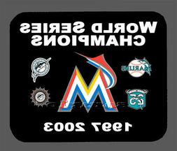 Item#496 Miami Marlins Championship Banner Mouse Pad