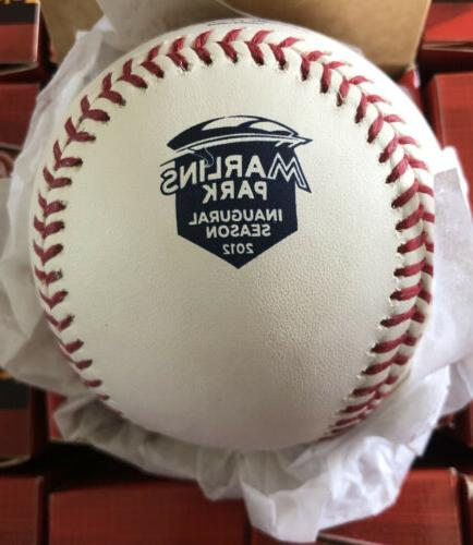 2012 official miami marlins inaugural baseball in