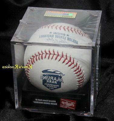 2012 rawlings official miami marlins inaugural baseball