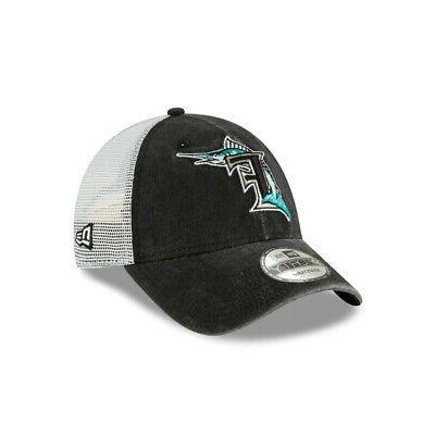 2019 mlb florida marlins baseball cap hat