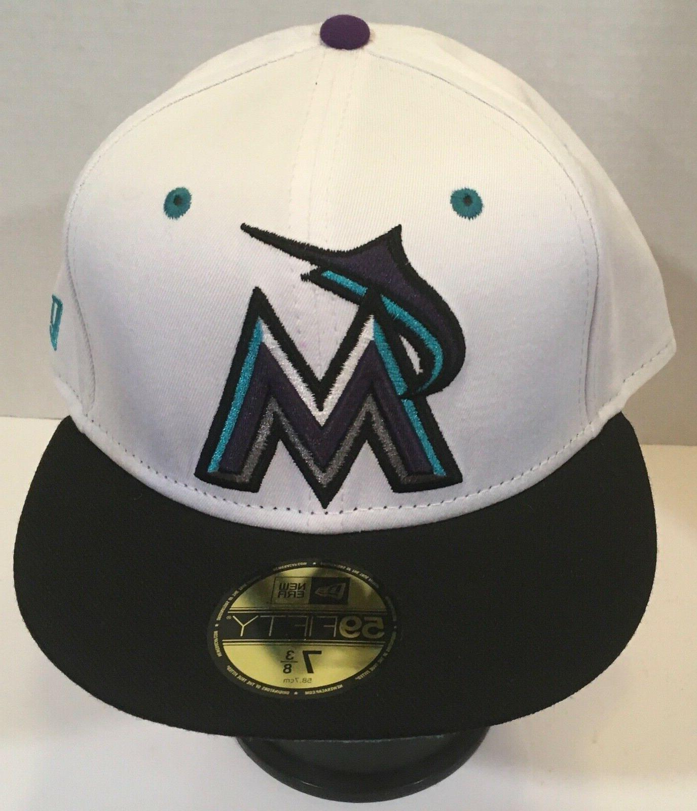 59fifty miami marlins fitted hats