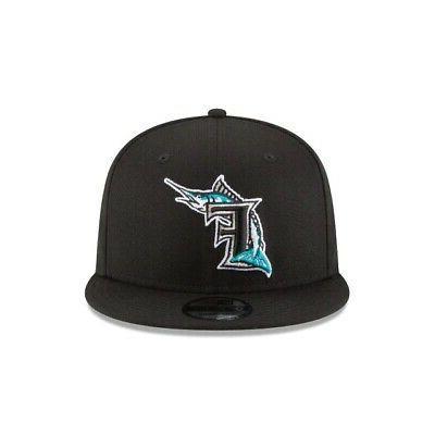 Florida Marlins New Era MLB 9FIFTY Adjustable Hat Cooperstown Miami