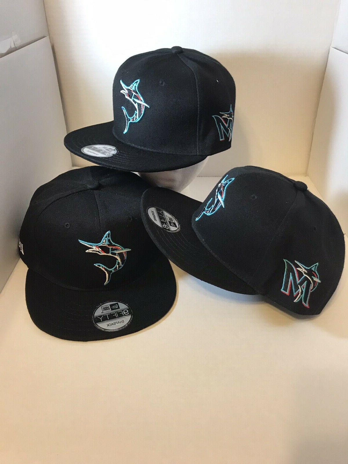 florida marlins mlb 9fifty adjustable snapback hat