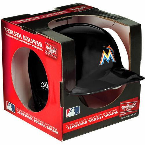 florida miami marlins mini batting baseball helmet