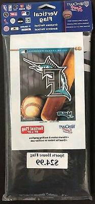 FLORIDA MIAMI MARLINS ~ Official MLB 27 x 37 Outdoor House F