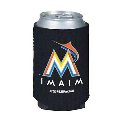 miami marlins 2 pack 12oz can neoprene