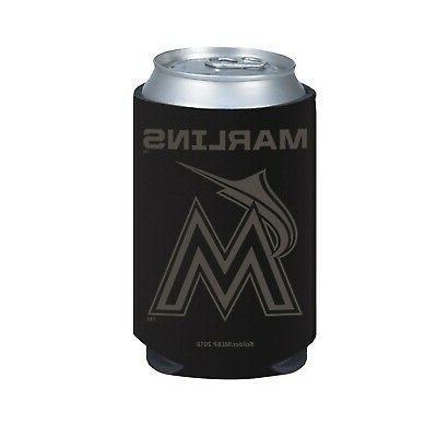 miami marlins 2 pack black tonal can
