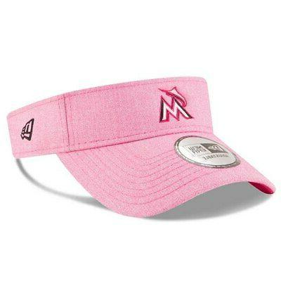 miami marlins 2018 mother s day visor