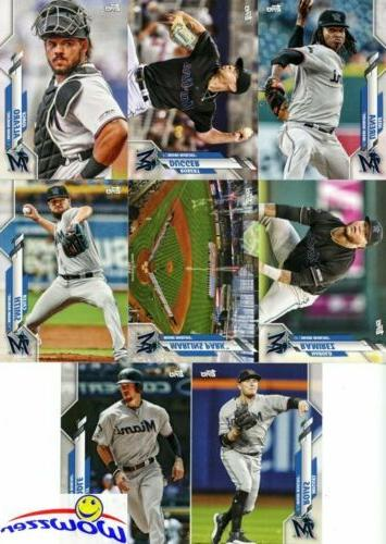 Miami 2020 Topps Limited Edition 17 Team set-Aguilar,Anderson,Lopez