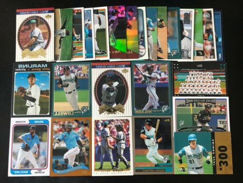 miami marlins 25 card lot 1993 2020