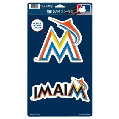 miami marlins 5 x 9 2 pack