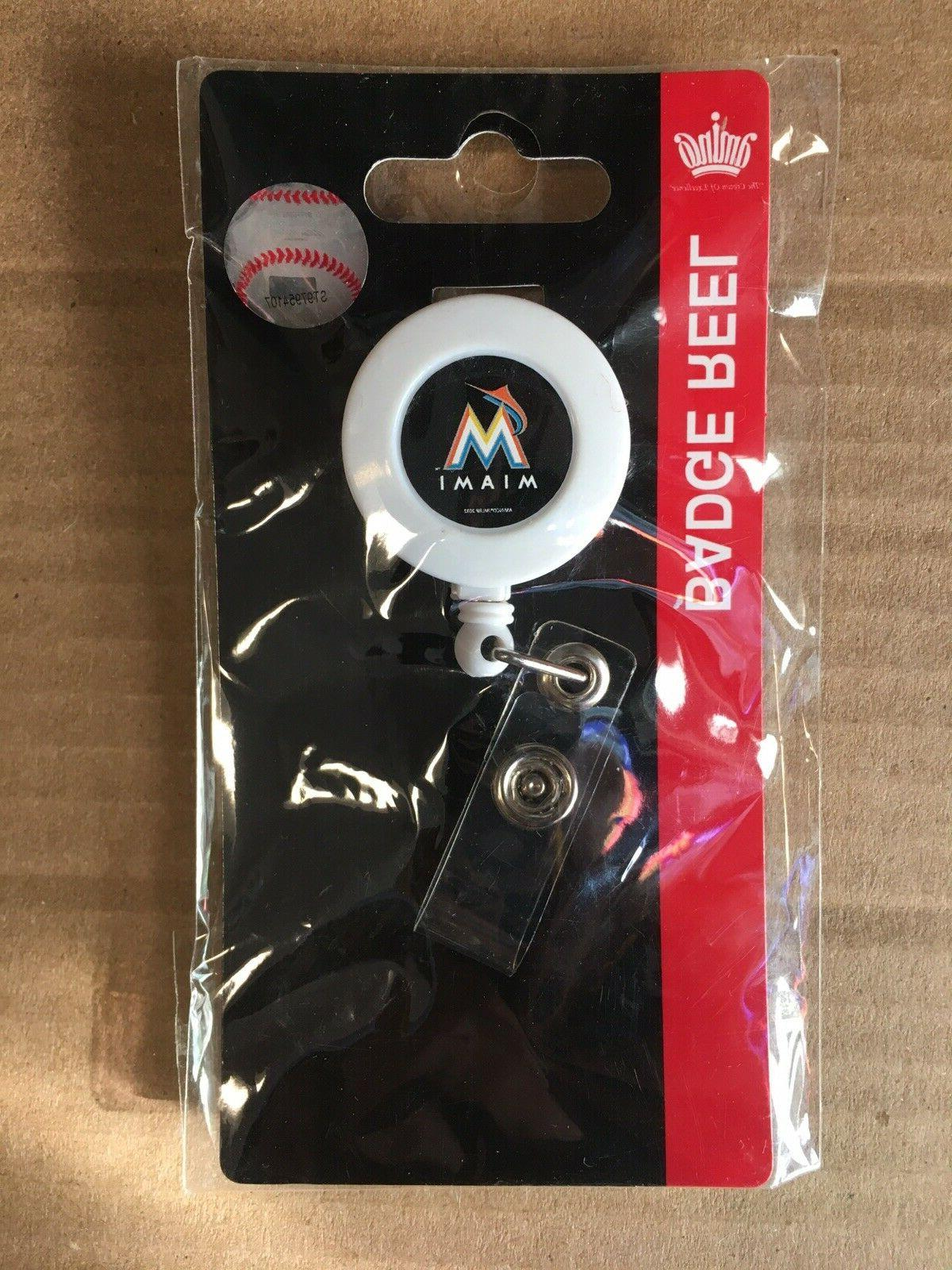 "MIAMI BADGE HOLDER / 30"" Retractable Cord"