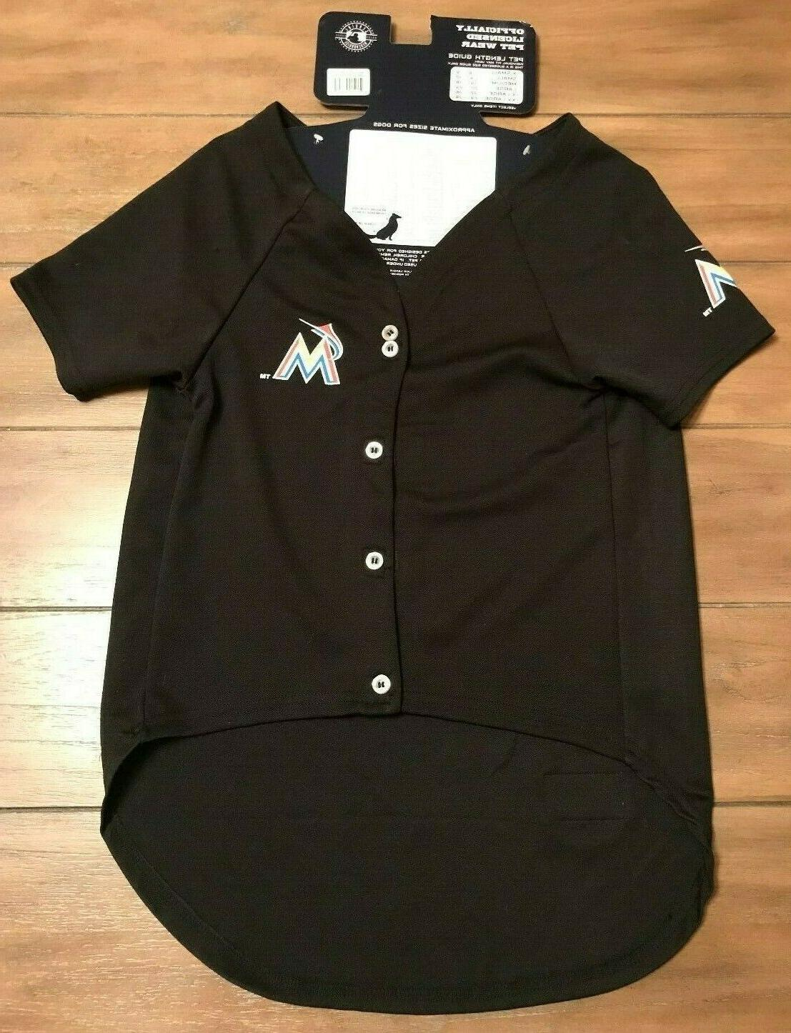 Miami Marlins Shirt - XXL - Official Pets First NWT