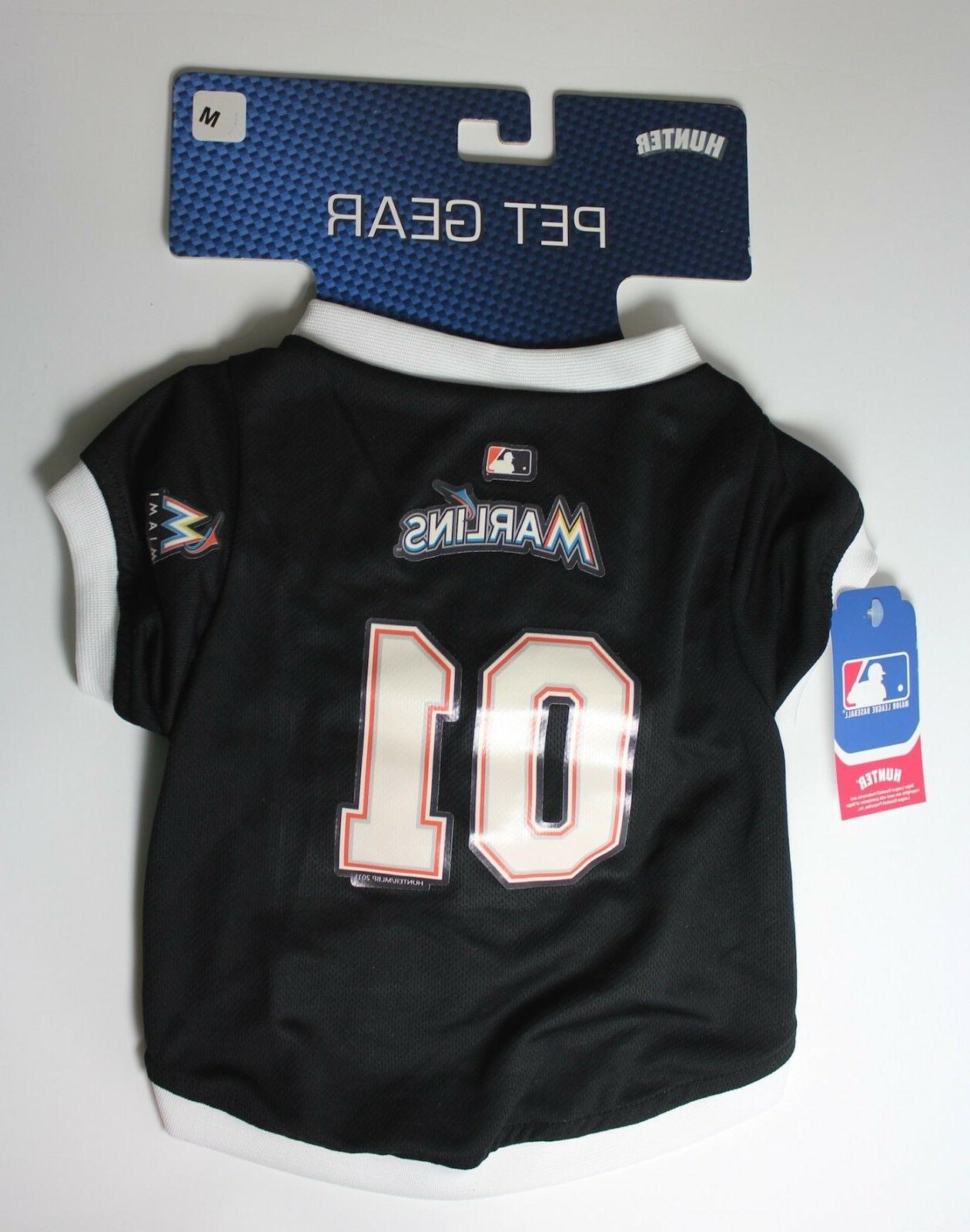 miami marlins dog pet jersey medium 14