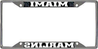 miami marlins ez view design chrome frame