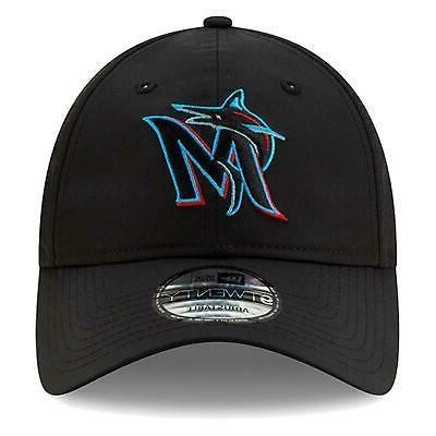 Miami Marlins Hat Perf Pivot Adjustable Cap OSFA