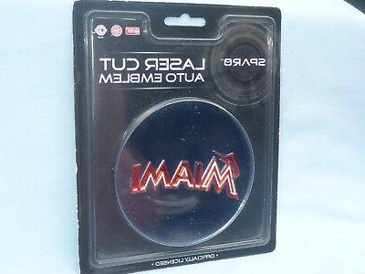 miami marlins laser cut auto emblem self