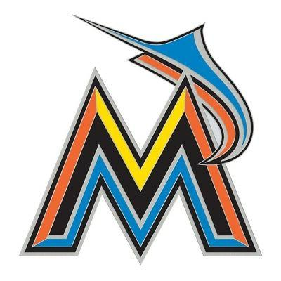 miami marlins logo collector pin brand new