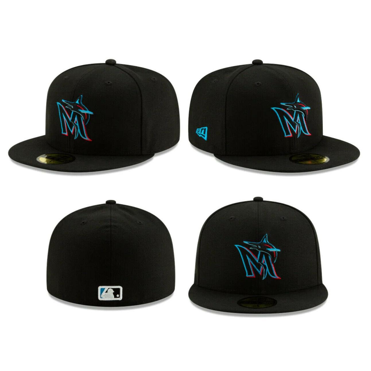 Miami Marlins MLB Authentic New Era 59FIFTY