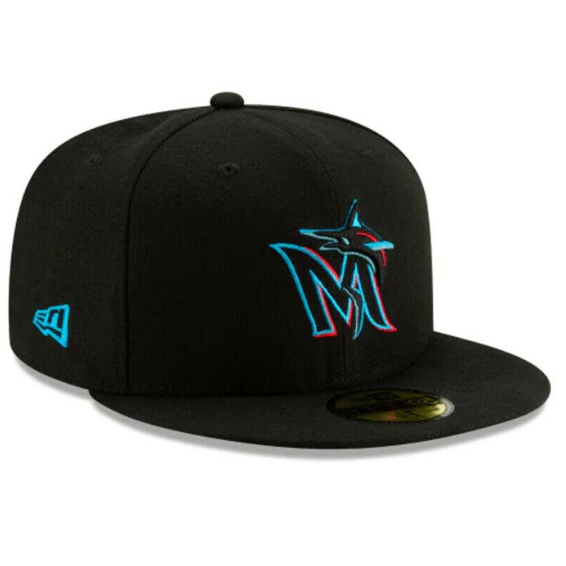 miami marlins mia mlb authentic collection 59fifty