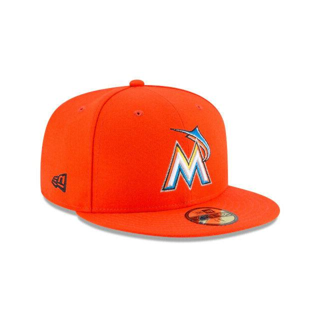 miami marlins mlb authentic on field road