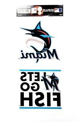 miami marlins new blue logo double up