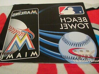 miami marlins official mlb 30 x 60