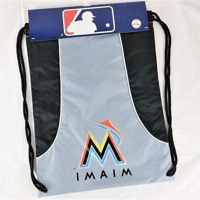 miami marlins officially licensed mlb back sack
