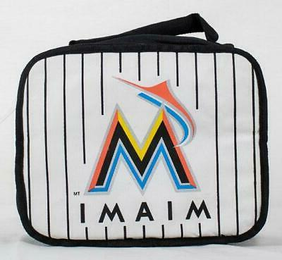 miami marlins officially licensed mlb lunch box