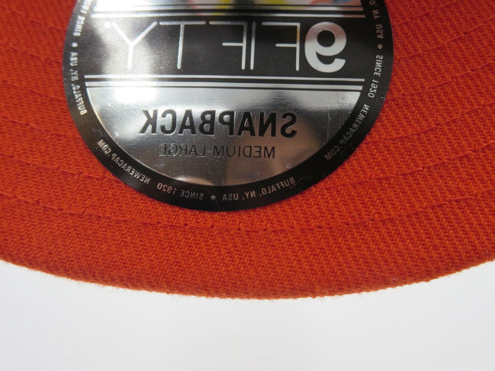 Miami Era World Series Patch MLB Snapback Cap M/L